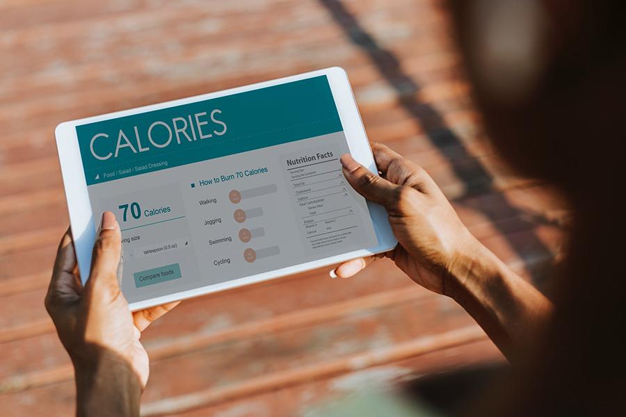 Die Kalorienbilanz. Personal Training